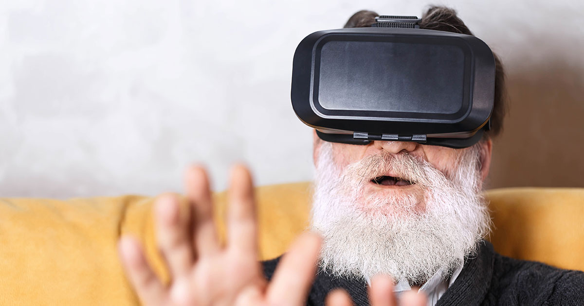 Elderly Man VR Bucket List